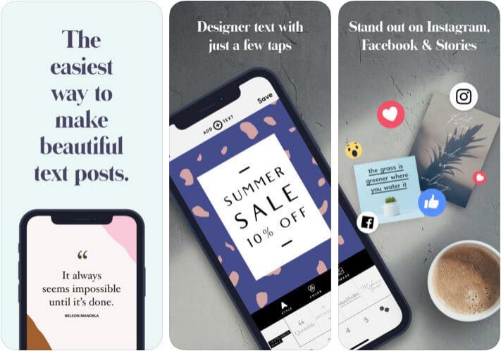 Word Swag Adding Text to Photos iPhone App Screenshot