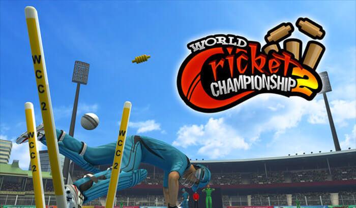 World Cricket Championship 2 Sports iPhone and iPad Game Screenshot