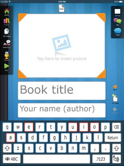Write to Read App for iPad