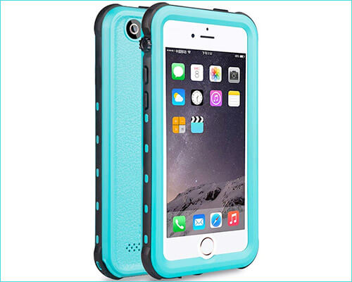 X-CASE Waterproof Case for iPhone SE and iPhone 5s