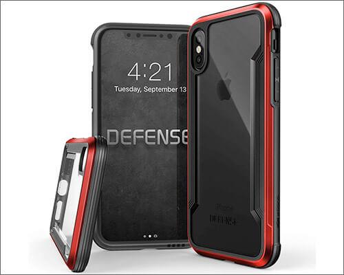 X-Doria Military Grade Case for iPhone Xs
