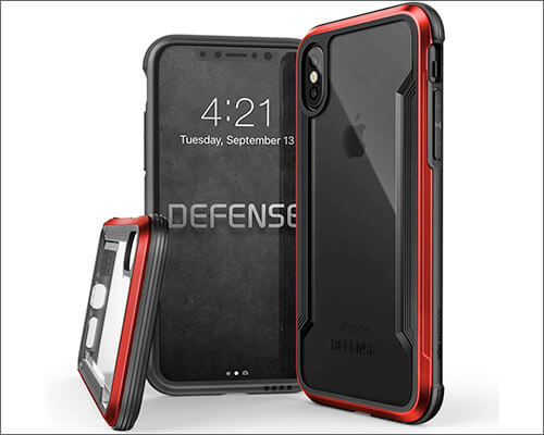 X-Doria Rugged Case for iPhone Xs