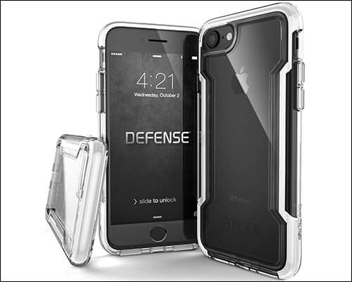 X-Doria iPhone 8 Heavy Duty Military Grade Case