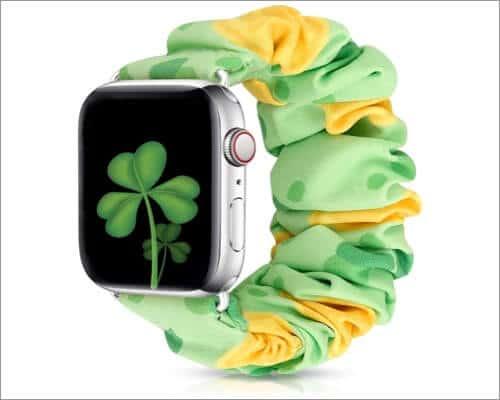 XFYELE Cute Scrunchie Strap for Apple Watch