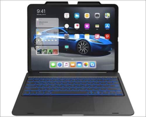 YEKBEE Trackpad Keyboard Case for iPad