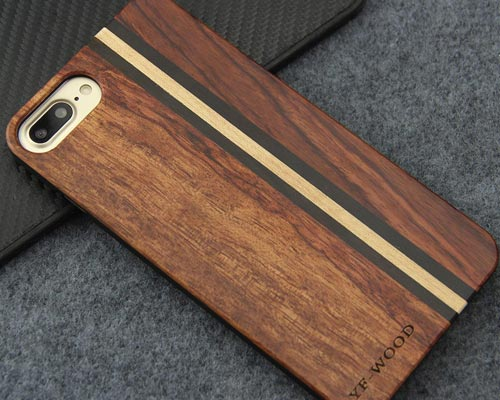 YFWOOD Wooden Case for iPhone 7 Plus