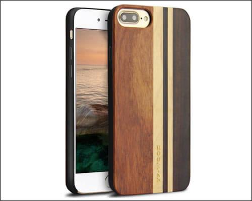 YFWOOD iPhone 8 Plus Wooden Case