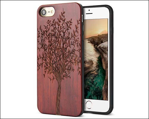 YFWOOD iPhone 8 Wooden Case