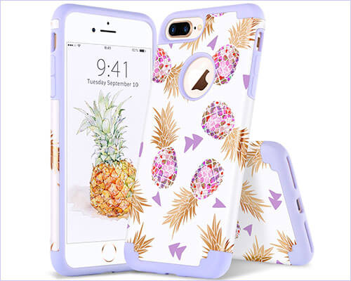 YINLAI iPhone 8 Plus Case for Female