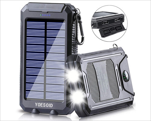 YOESOID Solar Charger for iPhone