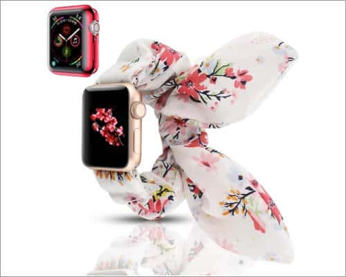 YOSWAN Scrunchie Elastic Band for Apple Watch