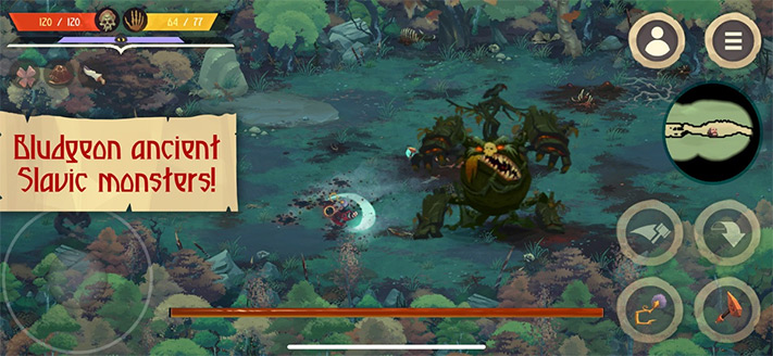 Yaga The Roleplaying Folktale Apple Arcade Role Playing Game for iPhone, iPad and Apple TV