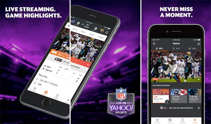 Yahoo Sports iPhone and iPad FIFA App Screenshot