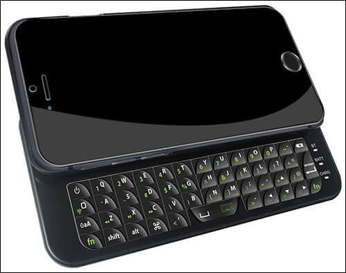 Yakamoz iPhone 6-6s Bluetooth Keyboard Case