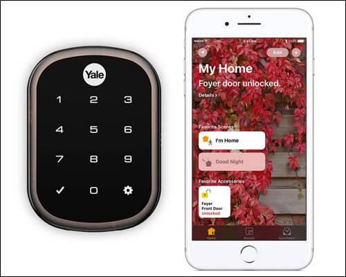 Yale Security HomeKit Enabled Smart Lock