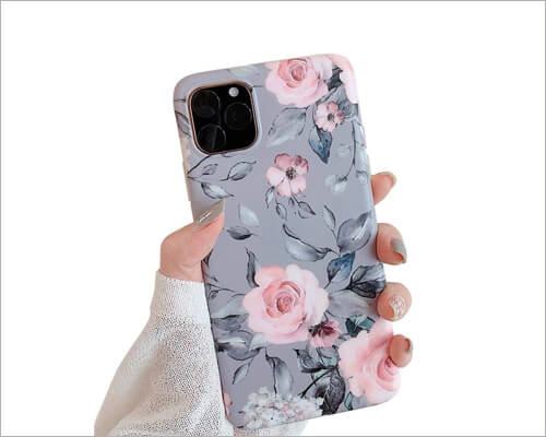 YeLoveHaw Soft Slim Fit iPhone 11 Pro Case for Women