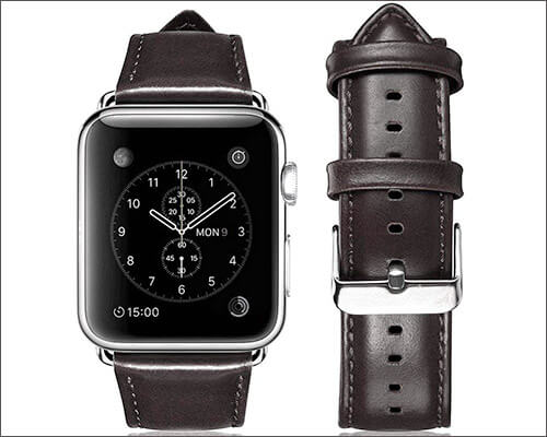 Yearscase Apple Watch Series 2 Leather Band