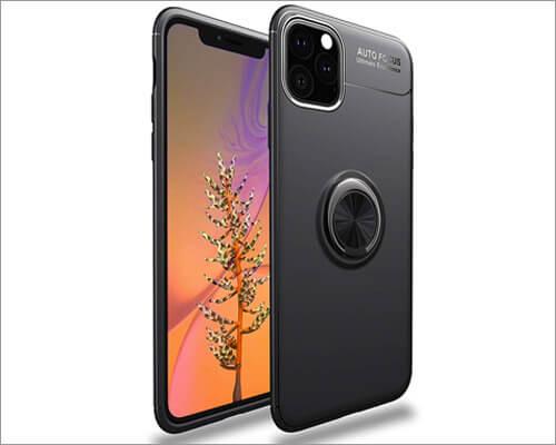 Yobby iPhone 11 Pro Ring Holder Case