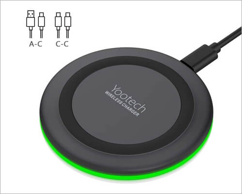 Yootech Wireless Charger for iPhone 11 Pro