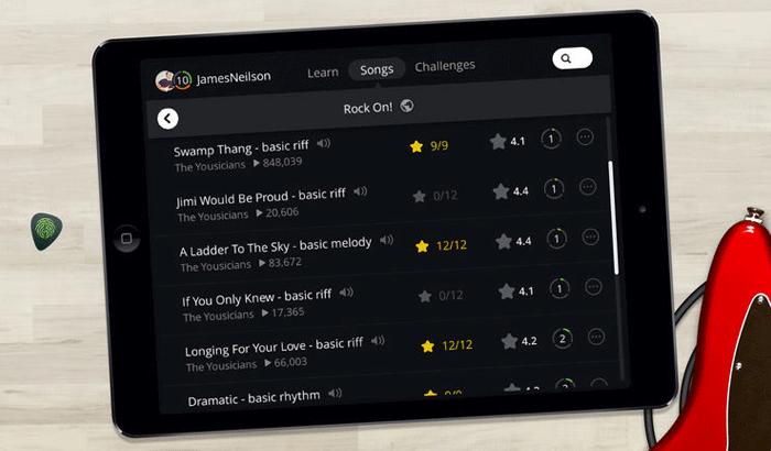 Yousician iPhone and iPad App Screenshot