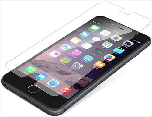ZAGG InvisibleShield Glass Screen Protectors for iPhone 6 Plus