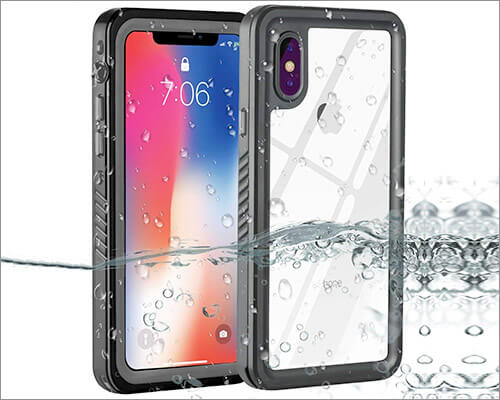 ZEMERO Waterproof Case for iPhone Xs