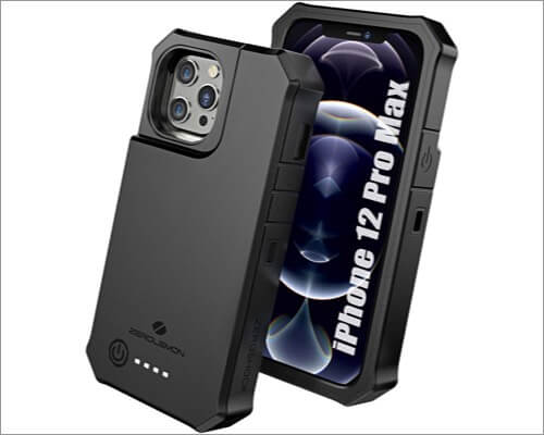 ZEROLEMON RuggedJuicer battery cases for iPhone 12 Pro Max