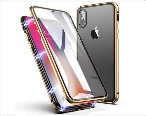 ZHIKE iPhone Xs Max Magnetic Case with Wireless Charging