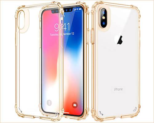 ZHK iPhone Xs Max Transparent Case