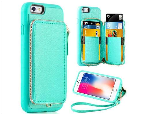 ZVE iPhone 6s Plus Wallet Case
