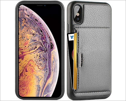 ZVE iPhone XS Leather Case