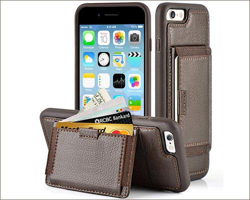 ZVEdeng iPhone 6s Wallet Case
