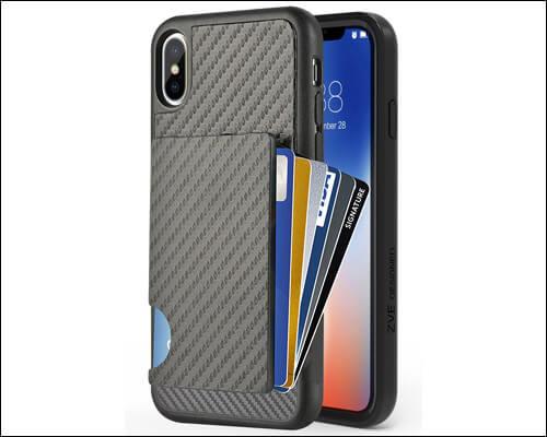 ZVEdeng iPhone X, Xs Card Holder Case