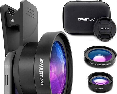 ZWARTpro 2 Wide Angle Macro Camera Lens Kit for iPad Mini