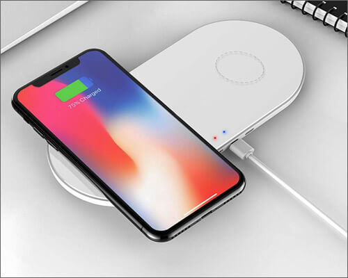 ZealSound Wireless Charging Pad for iPhone, Apple Watch, AirPods