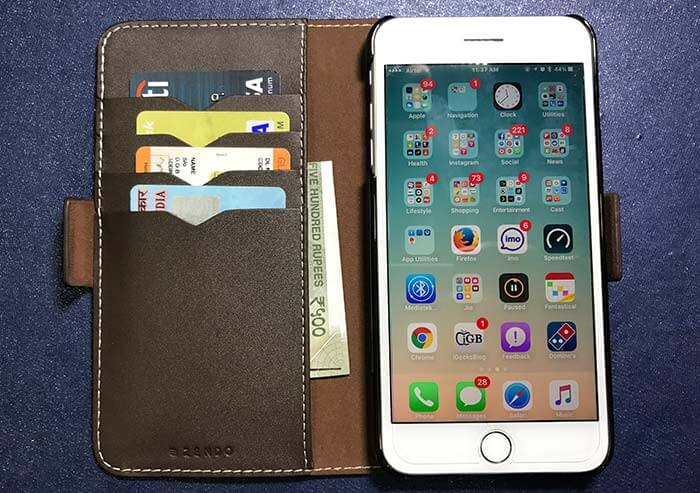 Zendo Kaiga Wallet Case for iPhone 7 and 7 Plus