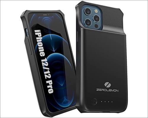 ZeroLemon SlimJuicer battery case for iPhone 12 and 12 Pro