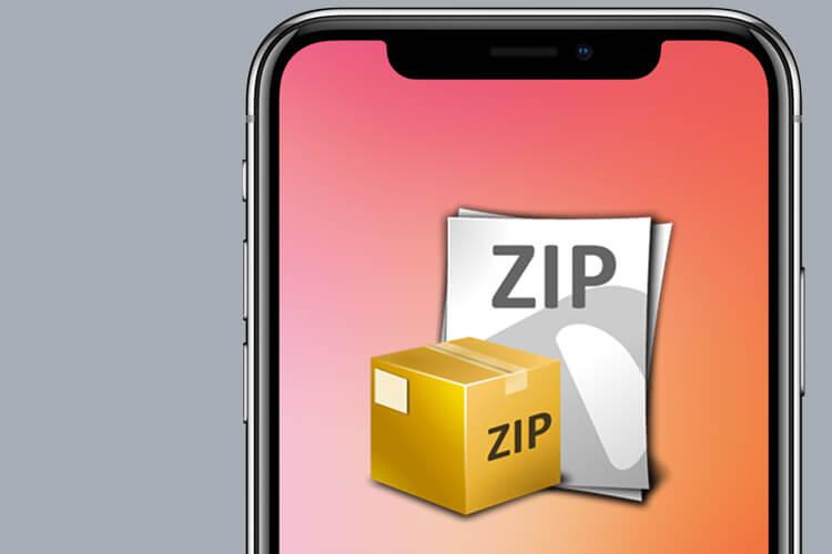 Zip Files Siri Shortcut