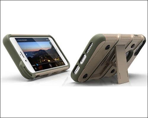 Zizo Bolt iPhone 8 Kickstand Case