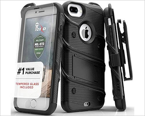 Zizo Bolt iPhone 8 Plus Belt Clip Case