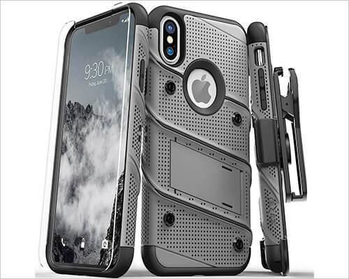 Zizo Bolt iPhone Xs Military Grade Case