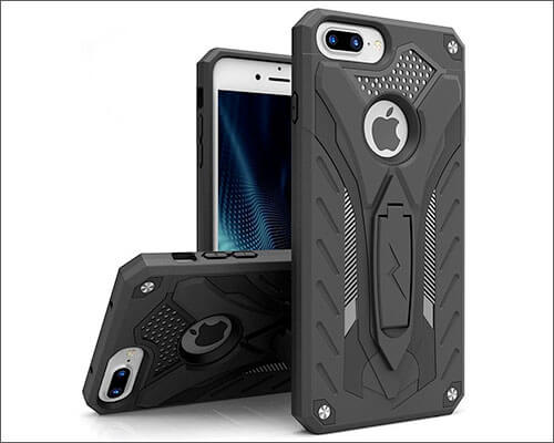Zizo Static iPhone 7 Plus and iPhone 8 Plus Kickstand Case