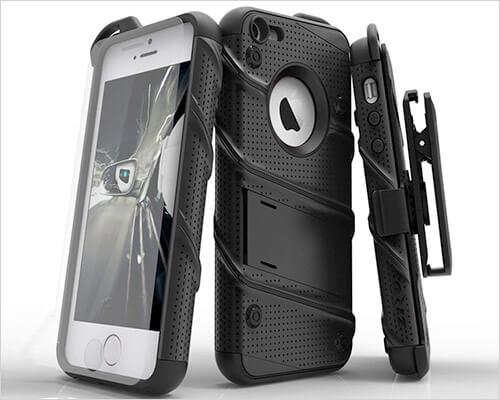 Zizo iPhone SE Belt Clip Holster Case
