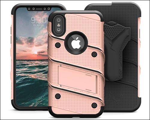 Zizo iPhone X Belt Clip Case