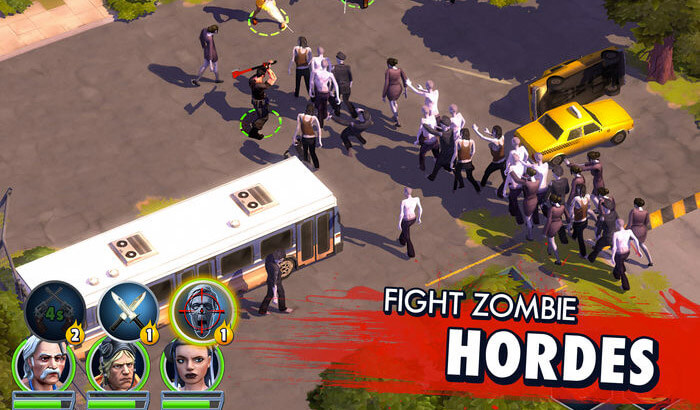 Zombie Anarchy Strategy iPhone and iPad Game Screenshot