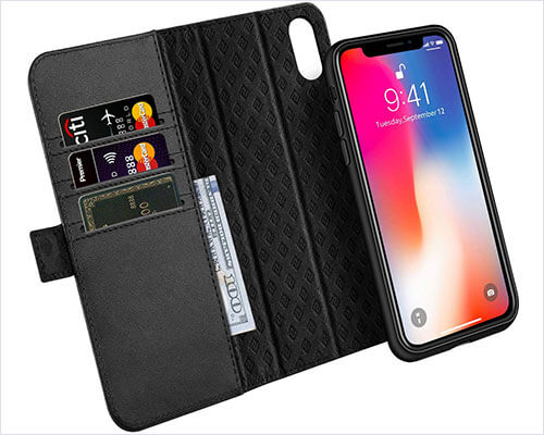 Zover Wallet Case for iPhone X-Xs