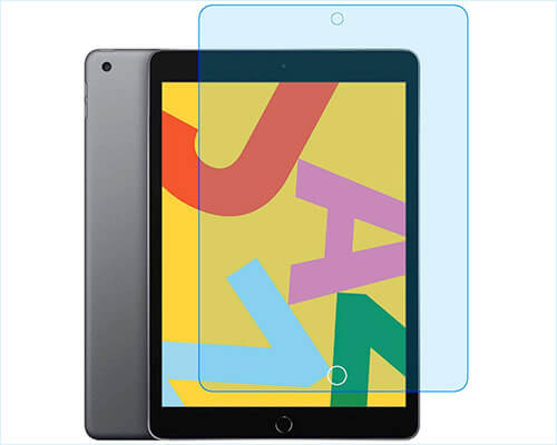 Zshion 10.2-inch iPad 7 Tempered Glass Screen Protector