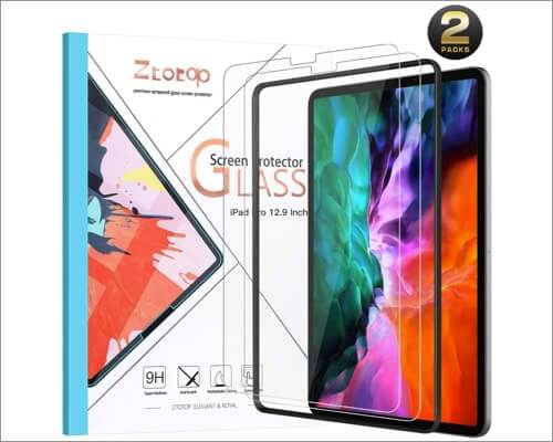Ztotop Screen Protector for 12.9-inch iPad Pro 4th Gen