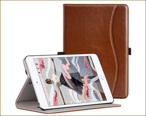 Ztotop iPad Mini 5 Leather Slim Folio Case
