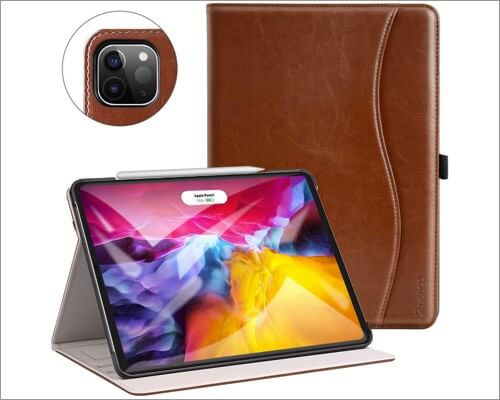 ZtotopCase Leather Case for 11 Inch iPad Pro 4th Gen